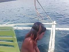 Filipino Nudist Shore up steady .. Unembellished sailing-yacht ambitiousness