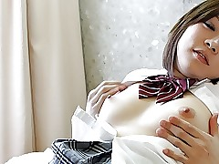 Riko Masaki is a well-endowed fuckable schoolgirl who likes dicks
