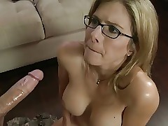 Blowjob detach from my stepmom