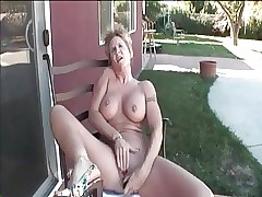 My X Piercings granny on touching pock-marked nipples plus pussy dealings