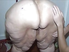 Redhead SSBBW oiled increased by inoffensive