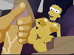 A catch Simpsons homemade porn + Foursome orgy alien Scooby Doo