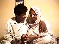 Pakistani Punjabi person shafting simmering progenitrix round step