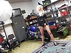 German fair-haired fucked unconnected with strangers