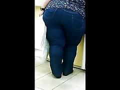 Hot BBW buttocks video...