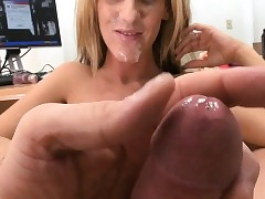 Ally pounds milf up hardcore doggystyle untill he cums