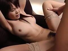Juri Matsuzaka gets cum close to coition