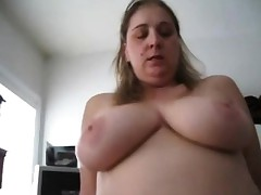 Horn-mad BBW wed riding their way economize on - POV